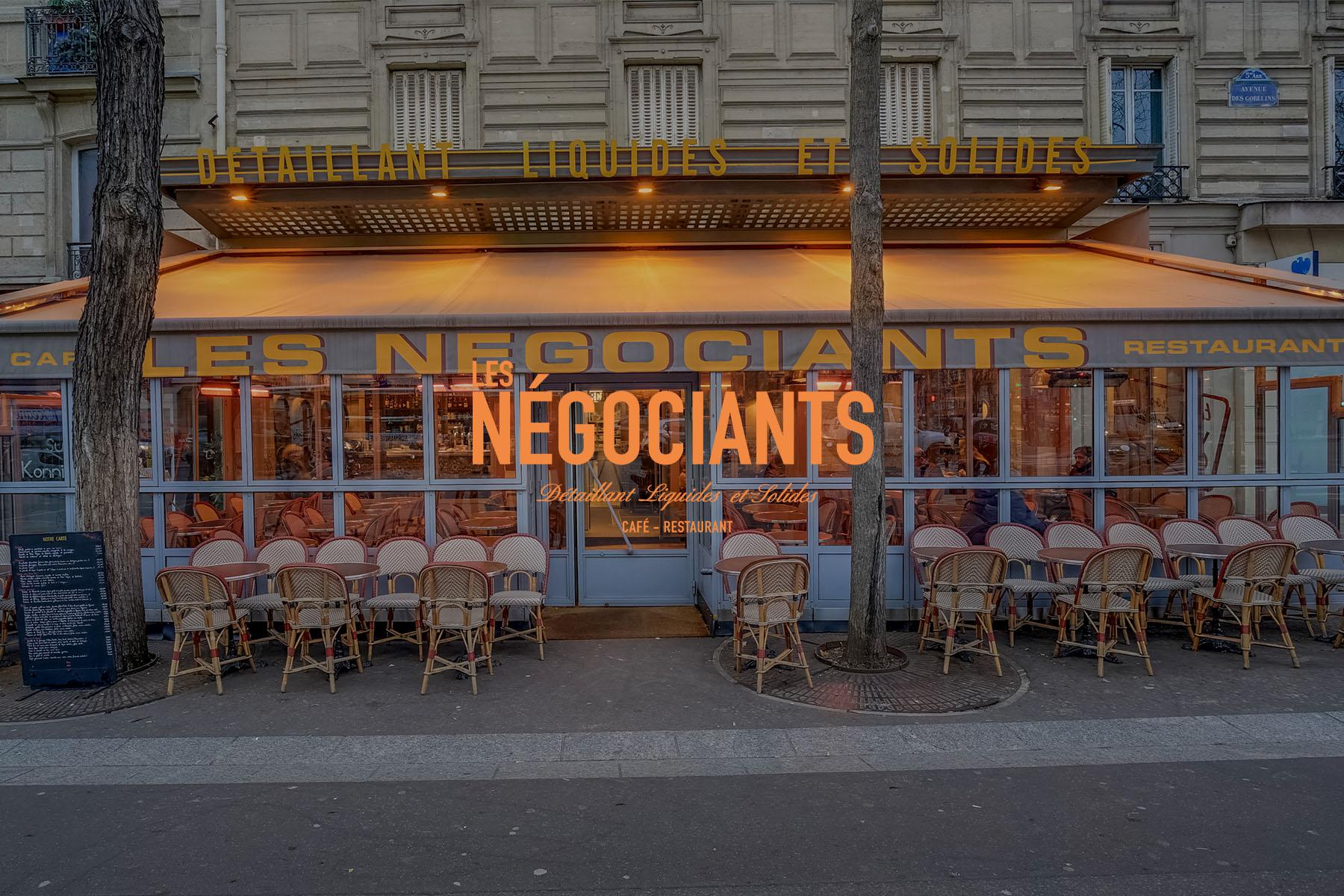 LES NÉGOCIANTS PARIS GOBELINS
