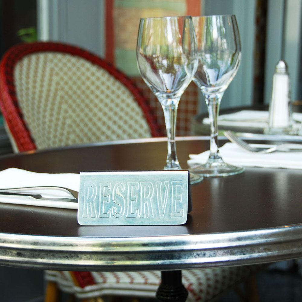 Table réservée Café les Négociants