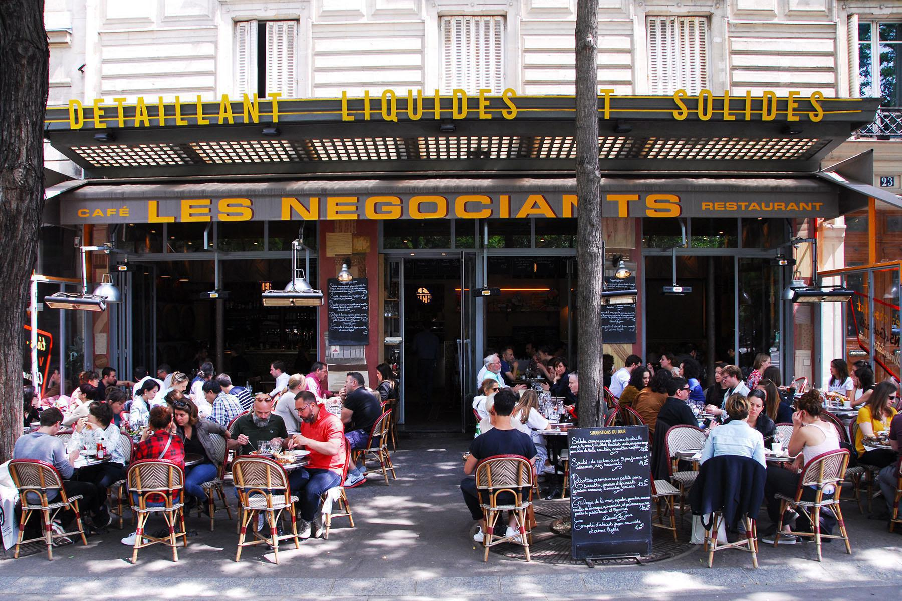 Terrasse Café Les Négociants